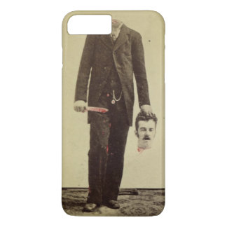 Beheaded Man Vintage Horror Gag iPhone 7 Plus Case