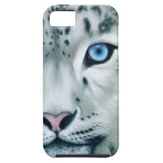 Behind Blue Eyes - Snow Leopard iPhone 5 Covers