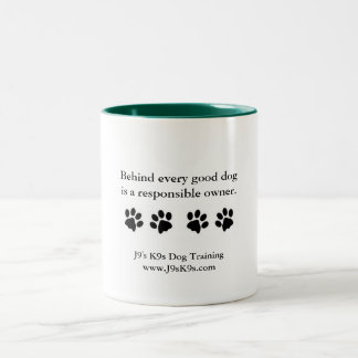 Behind every good dog... Mug