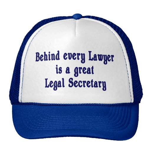 Behind every Lawyer Hat
