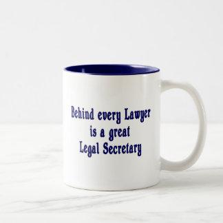 Behind Every Lawyer - Paralegal Mug