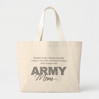 Behind Every Strong Soldier 1 Jumbo Tote Bag