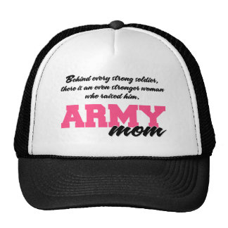 Behind Every Strong Soldier 3 Cap