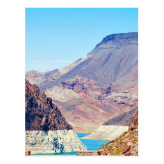 """Behind Hoover Dam"" collection Postcard"