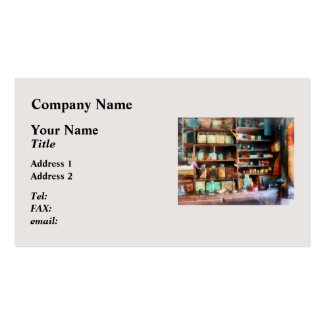 Behind the Counter at the General Store Double-Sided Standard Business Cards (Pack Of 100)