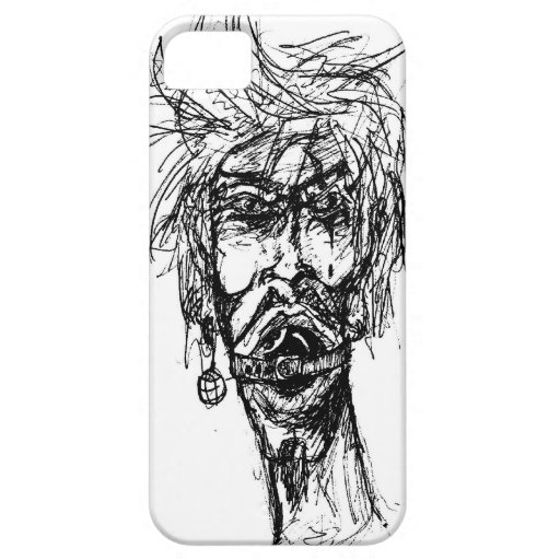 Behind the Eight Ball Gag Drawing iPhone 5 Covers