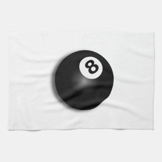 Behind The Eight Ball! Tea Towel