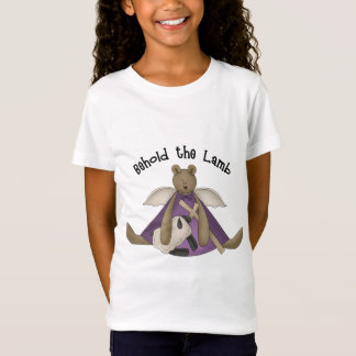 Behold the Lamb Girls Christian Baby Doll T-Shirt