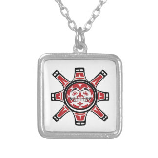 BEHOLD THE LIGHT SILVER PLATED NECKLACE