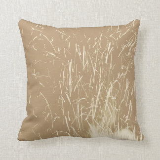 Beige and Cream Sparks Cushion