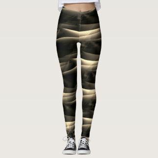 Beige and dark brown: modest but hot leggings