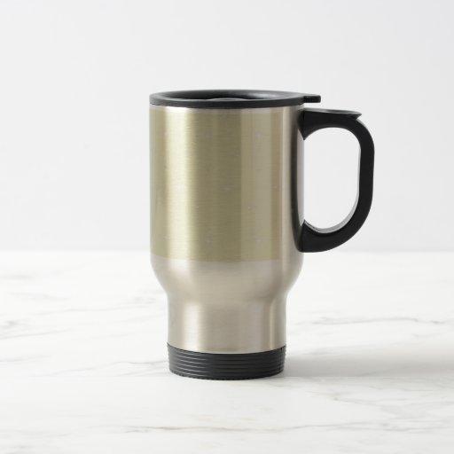 Beige  And Shining Stars Elegant Pattern Coffee Mug