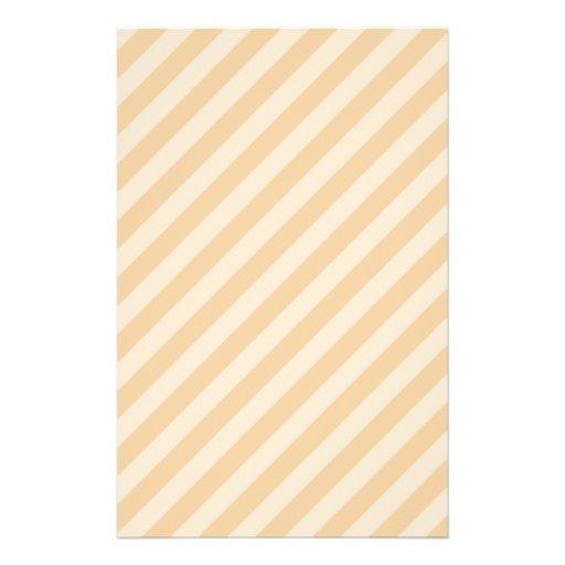 Beige and Tan Stripe Pattern. Flyers