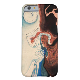 beige blue barely there iPhone 6 case
