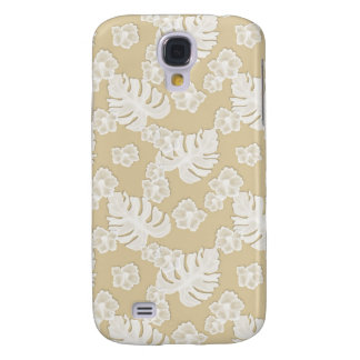 Beige Brown Floral Pattern Iphone 3g 3gs Speck Cas Galaxy S4 Cases