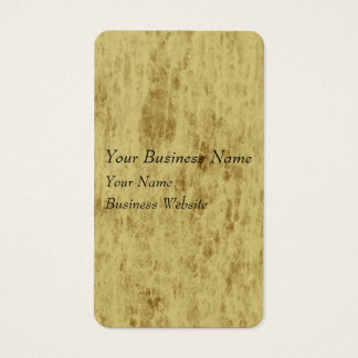 Beige leather look texture business card