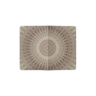 Beige mandala pocket moleskine notebook