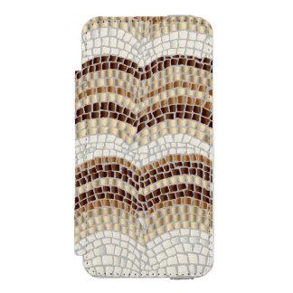 Beige Mosaic iPhone SE/5/5s Wallet Case Incipio Watson™ iPhone 5 Wallet Case