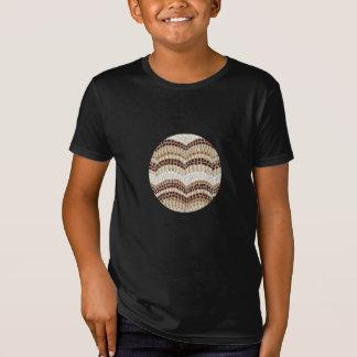 Beige Mosaic Kids' Organic T-Shirt