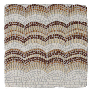 Beige Mosaic Marble Stone Trivet