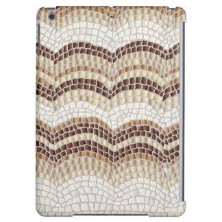 Beige Mosaic Matte iPad Air Case
