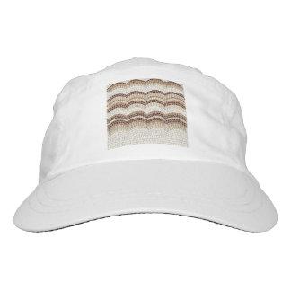 Beige Mosaic Woven Performance Hat