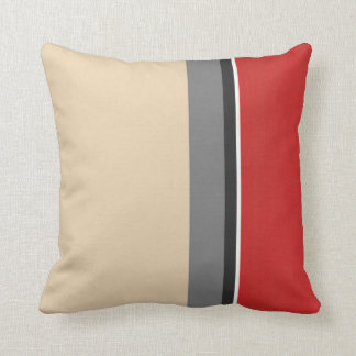 Black White Tan Throw Pillows : Beige And White Stripes Cushions - Beige And White Stripes Scatter Cushions Zazzle.com.au