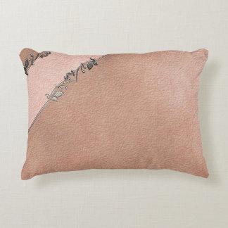 Beige Scrapbook Pillow