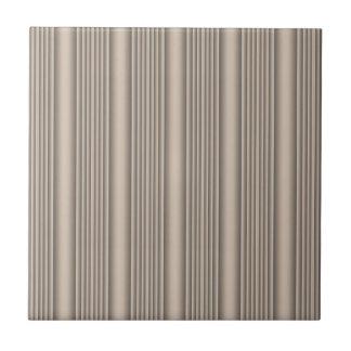 Beige Sculpted Stripe Ceramic Tile