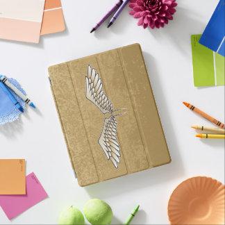 Beige wings iPad cover