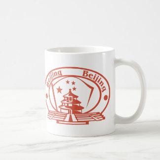 Beijing Stamp Coffee Mug