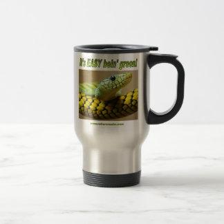 Bein' Green (Mamba) 15 Oz Stainless Steel Travel Mug