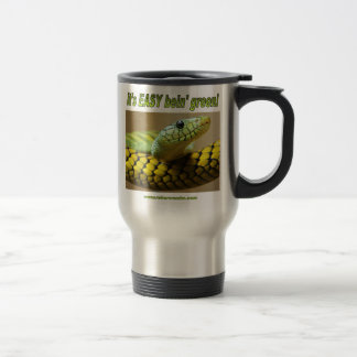 Bein' Green (Mamba) Stainless Steel Travel Mug