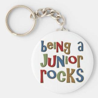Being A Junior Rocks Key Chain