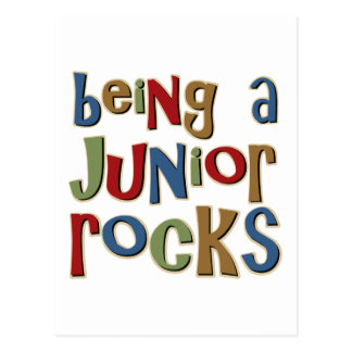 Being A Junior Rocks Postcard