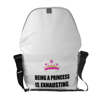 Being A Princess Is Exhausting Commuter Bags