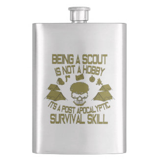 Being A Scout Is Not A Hobby Classic Flask