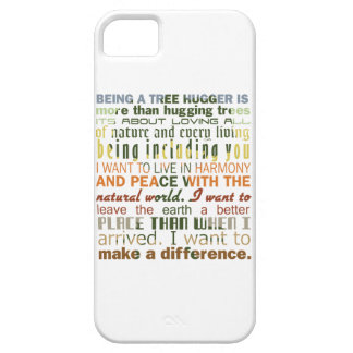 Being a Tree Hugger iPhone 5 Cases