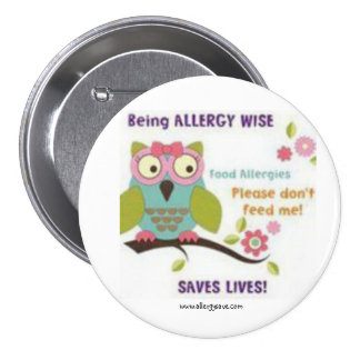 Being Allergy Wise - Awareness badge