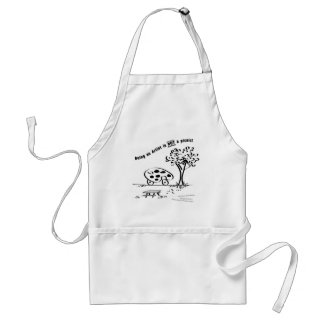 Being an Artist is NOT a picnic Aprons