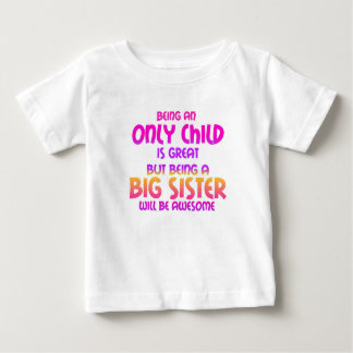 Being an Only Child is Great, Purple Baby T-Shirt