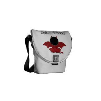 Being Cheeky Devil Mini-Messenger Bag