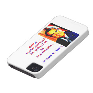 Being Controversial In Politics - Richard Nixon.jp Case-Mate iPhone 4 Cases