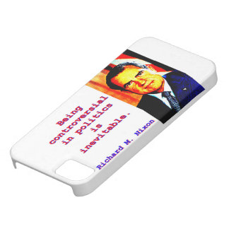 Being Controversial In Politics - Richard Nixon.jp iPhone 5 Cases