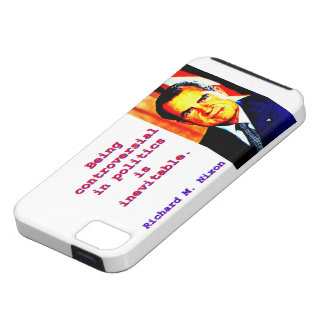Being Controversial In Politics - Richard Nixon.jp iPhone 5 Cover