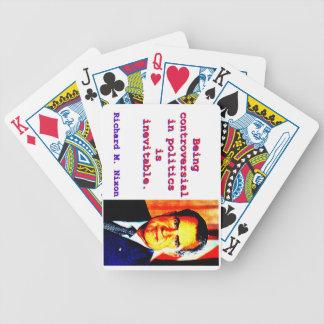 Being Controversial In Politics - Richard Nixon.jp Poker Deck