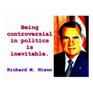 Being Controversial In Politics - Richard Nixon.jp Postcard