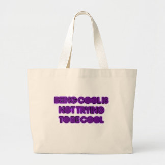being cool-not what you think tote bags