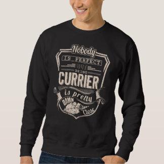 Being CURRIER Is Pretty. Gift Birthday Sweatshirt