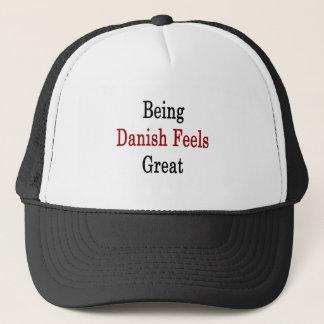 Being Danish Feels Great Trucker Hat